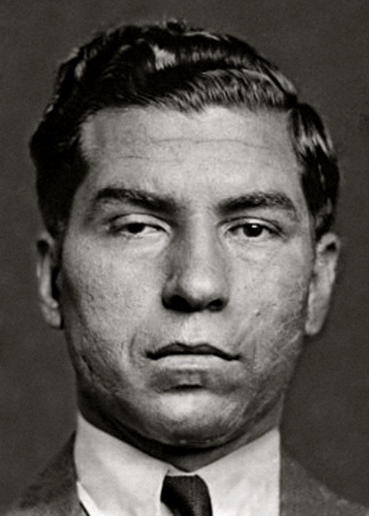 Lucky Luciano. Wikimedia Commons.
