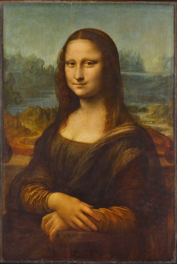 Leonardo da Vinci - Mona Lisa (Louvre, Paris). Wikimedia Commons.