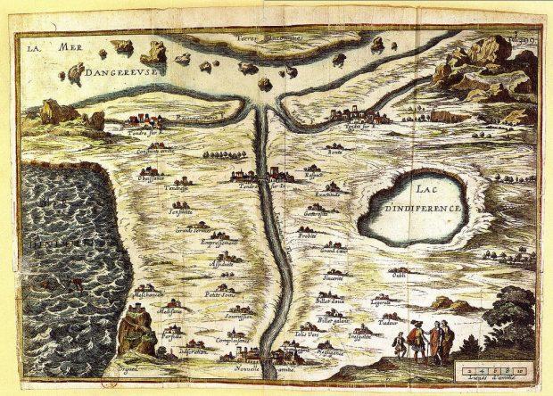 Carta de la Ternura. François Chauveau. 1654. Wikimedia Commons.