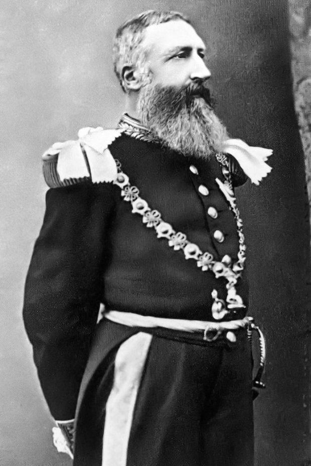 El rey Leopoldo II. Wikimedia Commons.