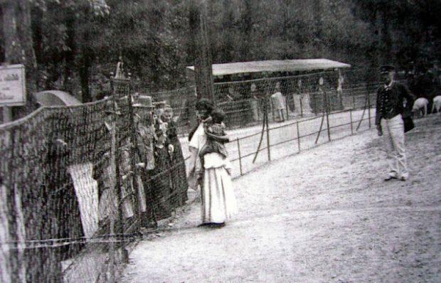 Zoo humano en Alemania.