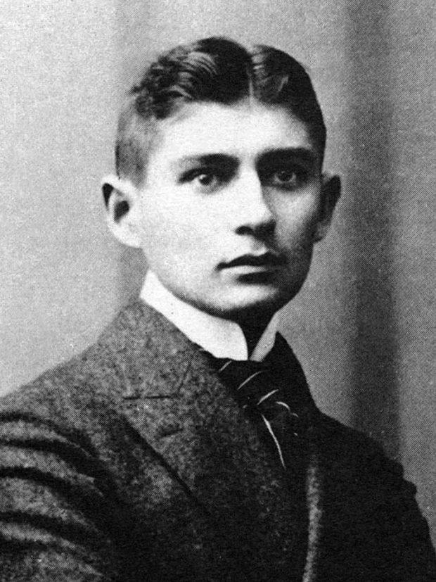 Retrato de Franz Kafka. Wikimedia,