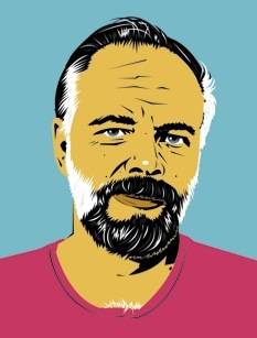 Dibujo de Philip K. Dick