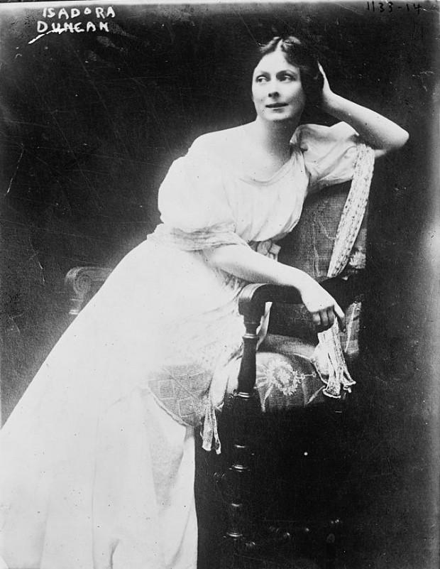 La causa de la muerte de Isadora Duncan