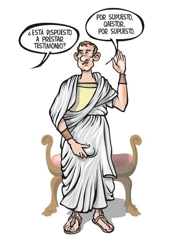 El origen de la palabra \'testificar\' y el bulo sobre los romanos y ...