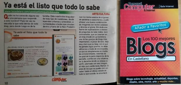 Los 100 mejores Blogs en Castellano
