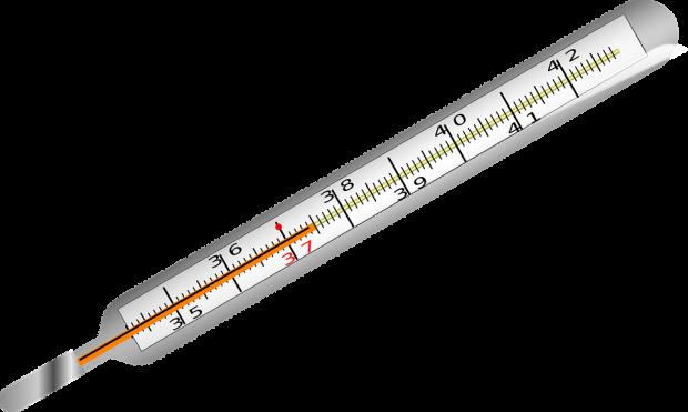 ¿Cuál fue el origen de los termómetros de mercurio?