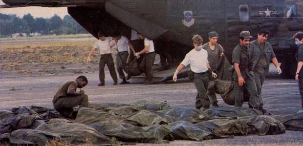 El suicidio masivo en Jonestown