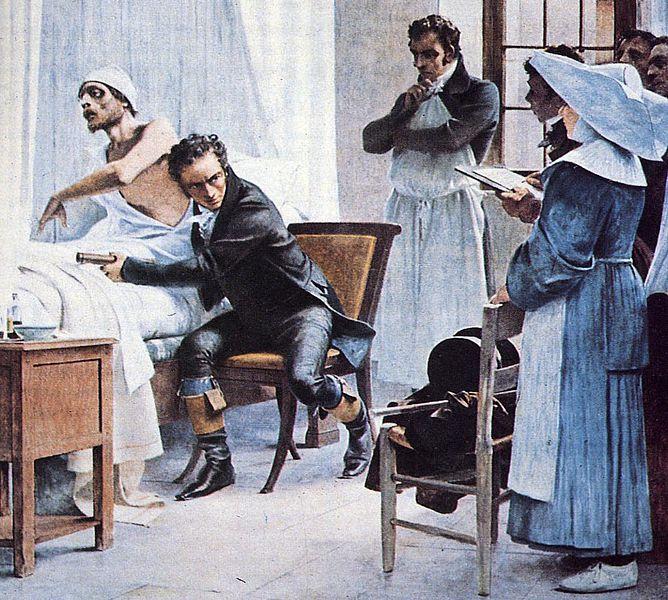 René Laënnec y el curioso origen del estetoscopio