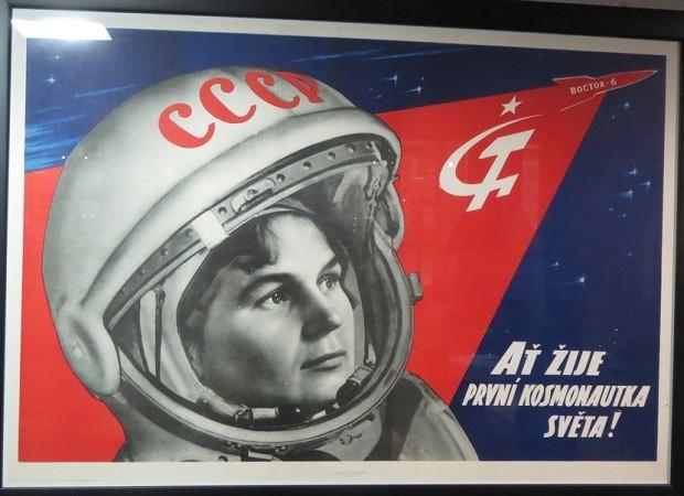 Valentina Tereshkova, la primera mujer astronauta