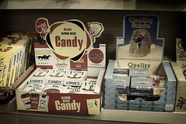 ¿Sabías que los 'cigarrillos de chocolate' se inventaron en Times Square?