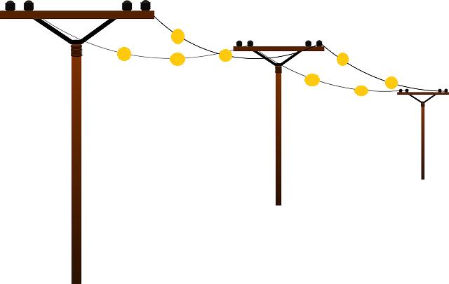 ¿Para que se ponen las bolas naranjas en los cables de alta tensión que pasan sobre la carretera?