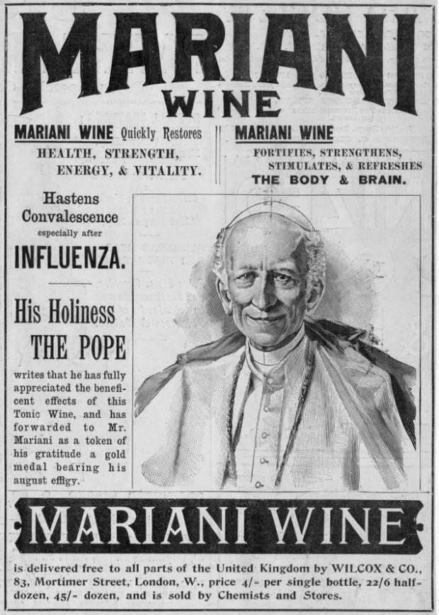Resultado de imagen de vino Mariani