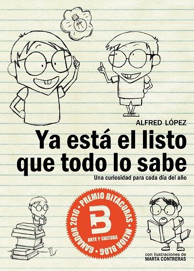 Portada eBook libro Ya está el listo que todo lo sabe de Alfred López