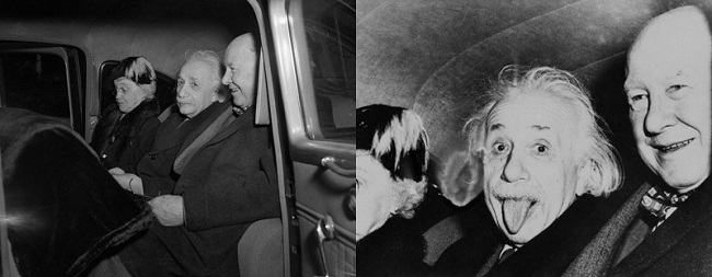 La anécdota sobre la famosa e icónica foto de Albert Einstein sacando la lengua