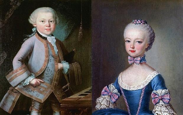 Cuando Mozart prometió a Maria Antonieta casarse con ella