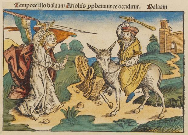 ¿De dónde surge la antiquísima expresión 'eres como la burra de Balaam'?