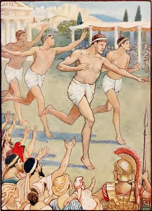 ¿Sabías que durante los Juegos Olímpicos de la Antigua Grecia se declaraba una tregua de paz?