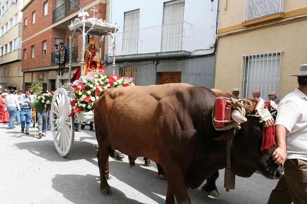 ¿De dónde surge llamar 'romería' a las peregrinaciones a un santuario?