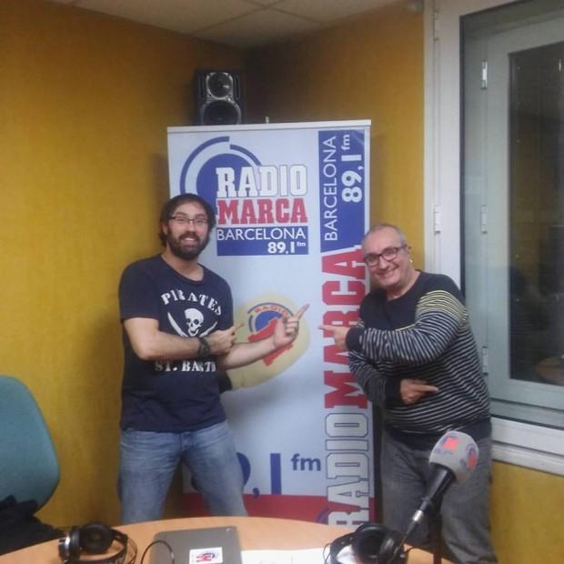 Carlos Garde y Alfred López en Radio Marca Barcelona (El Penalti)