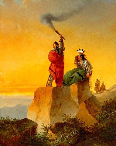 Para qué utilizaban realmente los indios las 'señales de humo'?