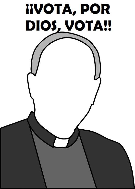 ¿Puede un sacerdote presentarse a unas elecciones en un partido político?