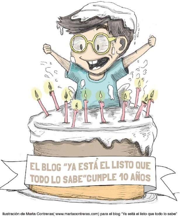 Diez años de curiosidades con el blog 'Ya está el listo que todo lo sabe' [#ElListoCumple10Años]