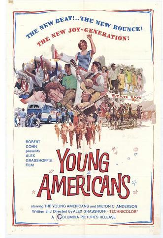 La película a la que se le retiró el Oscar tres semanas después de ganarlo (cartel de Young Americans)