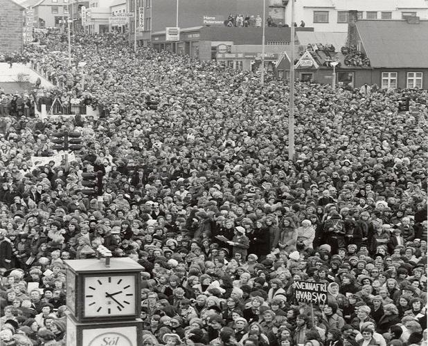 El día que las mujeres de Islandia se declararon en huelga