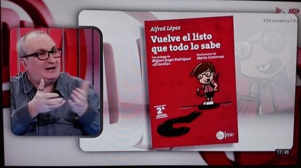 El libro 'Vuelve el listo que todo lo sabe' en TV3