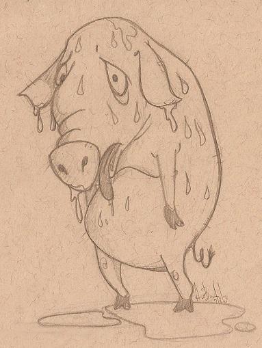¿Sabías que la expresión 'sudar como un cerdo' no se refiere al animal?