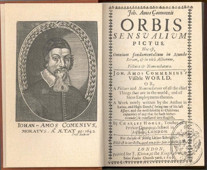 ¿Qué libro está considerado como el primero de la Historia dedicado exclusivamente para niños? (Orbis Pictus Sensualium)