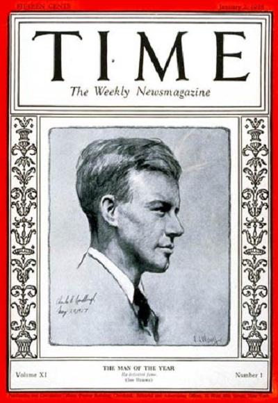 El curioso motivo por el que la revista Time comenzó a publicar su famoso suplemento dedicado al 'Hombre del año'