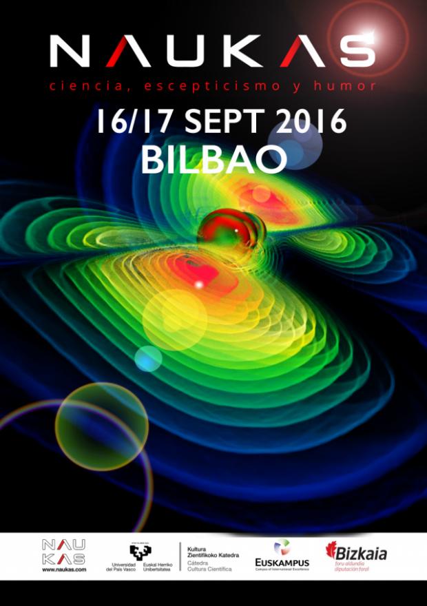 El mejor evento de divulgación científica te espera en septiembre en Bilbao - NAUKAS16