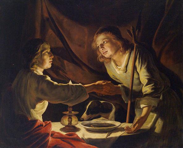 El origen de la expresión 'venderse por un plato de lentejas' (Esasú y Jacob)