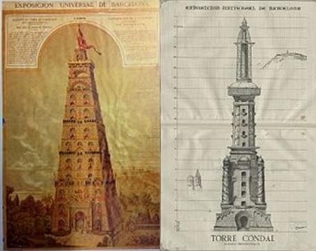 Torre Lapierre y Torre Condal