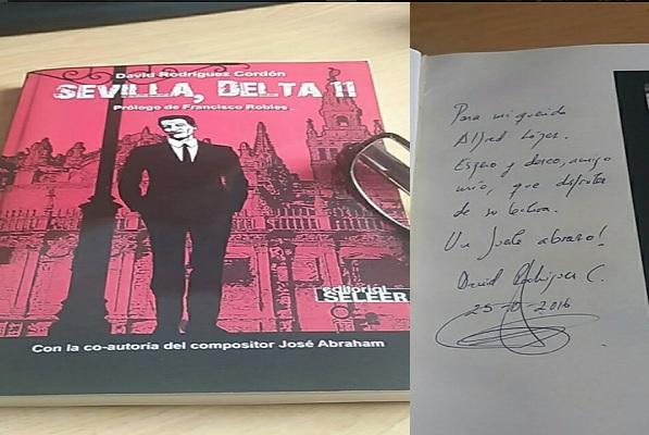 Reseña del libro: 'Sevilla, Delta 11' de David Rodríguez Cordón [#UnoAlMes]