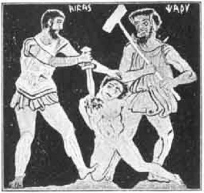 La cruel manera que tenían en la Antigua Grecia de expiar sus desgracias culpando a alguien inocente