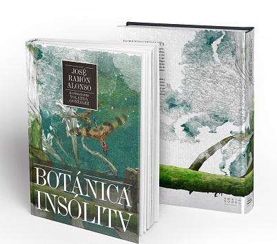 'Botánica insólita' de José Ramón Alonso e ilustrado por Yolanda González (Next Door Publishers)