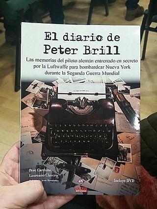 'El diario de Peter Brill' de Pere Cardona y Laureano Clavero (DSTORIA Edicions)