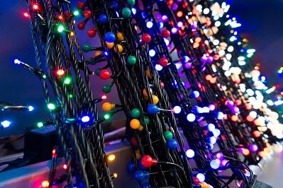 Las primeras luces de Navidad