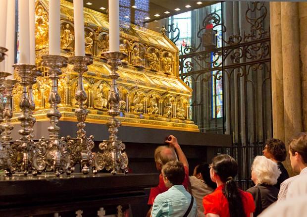 ¿Sabías que las reliquias de los Reyes Magos se encuentran en la Catedral de Colonia?