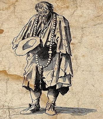 ¿Cuál es el origen del término 'pordiosero'?