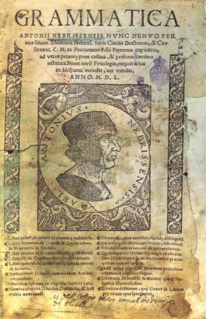 ¿Cuál es el primer libro que se publicó en español sobre gramática castellana?