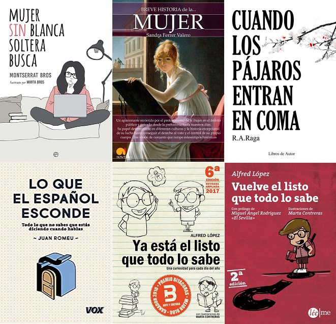Libros recomendados para comprar o regalar el Día del Libro