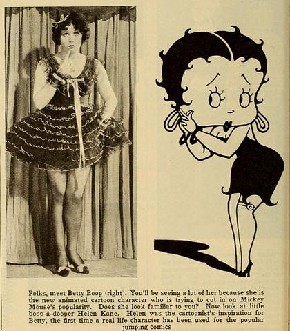 ¿Cuál es el origen de 'Betty Boop'?