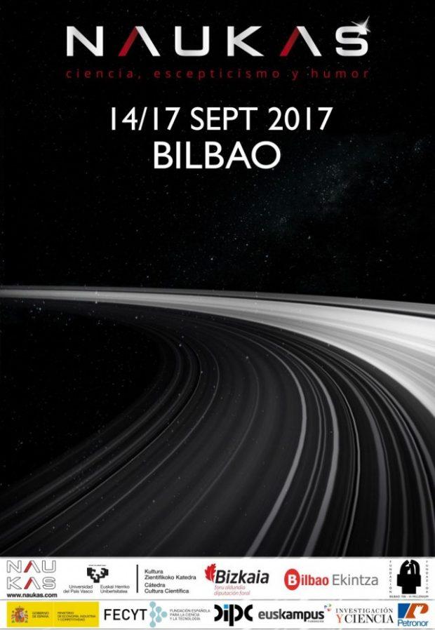 Un año más el mejor evento de divulgación científica se celebrará en Bilbao: #Naukas17