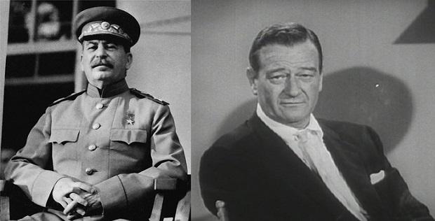 ¿Sabías que Stalin ordenó asesinar a John Wayne?