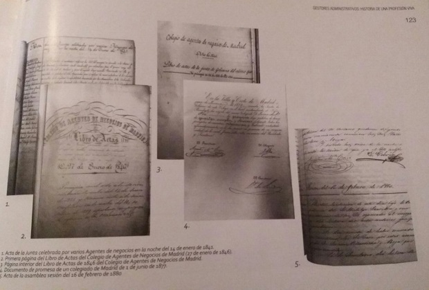 Libro 'Gestores Administrativos. Historia de una profesión viva' de Francisco Torres Verdugo y Pere Rodríguez Rodríguez
