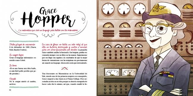 Grace Hopper. 'Las chicas son de ciencias' (25 científicas que cambiaron el mundo)